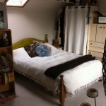 Double Attic Bedsit with sink